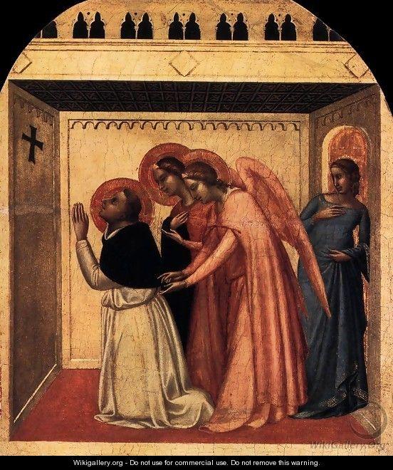 the temptation of st thoms aquinas by bernardo daddi 1338