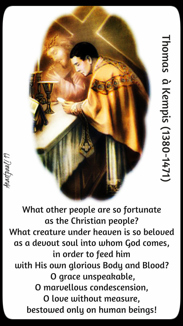 what other people are so fortunate - thomas a kempis - sun reflec 6 jan 2019.jpg