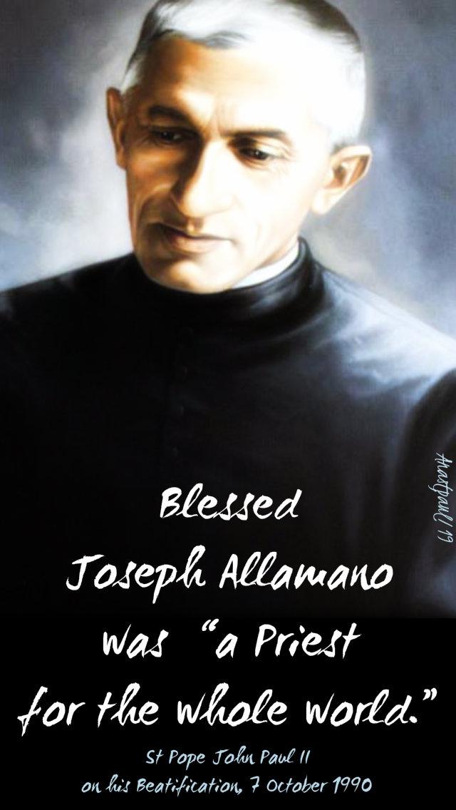 bl joseph allamano was a priest for the whole world - st john paul 16 feb 2019