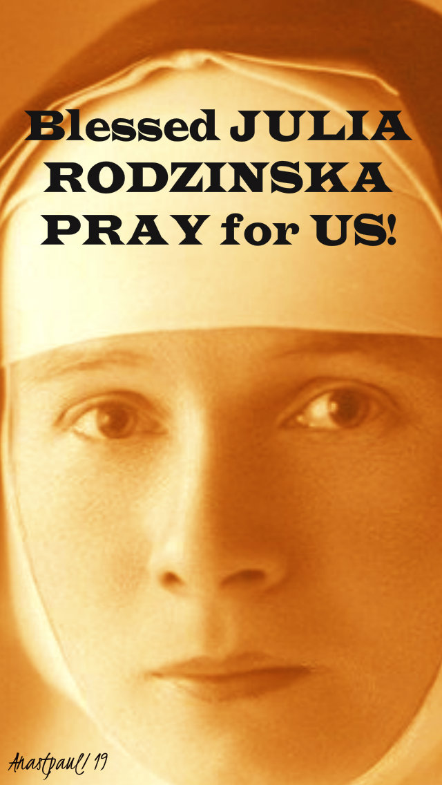 bl julia rodzinska pray for us 20 feb 2019.jpg