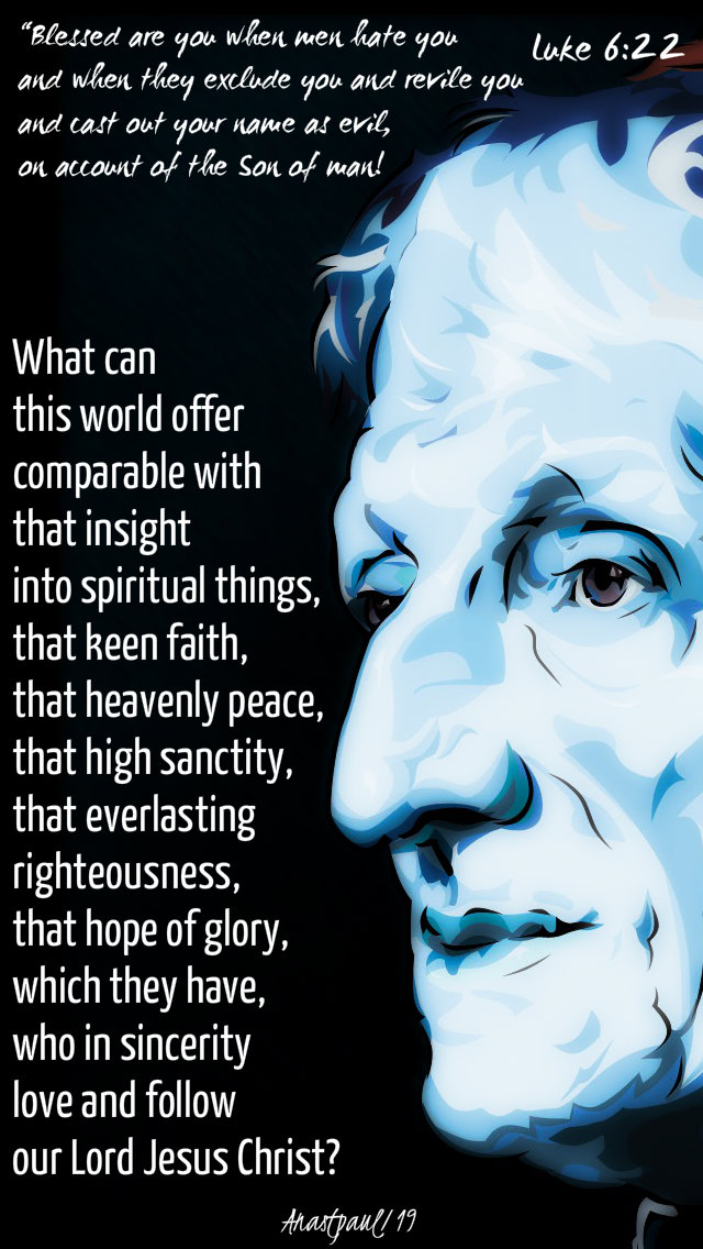 blessed are you luke 6 22 - what can this world offer - bl john henry newman 17 feb 2019.jpg