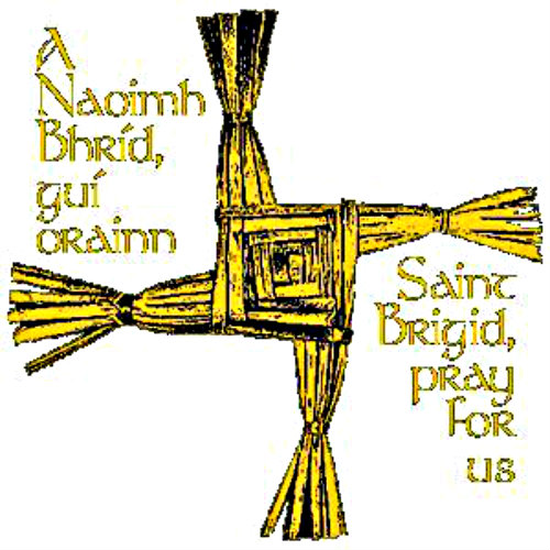 Brigid prayer saint Saint Bridget's