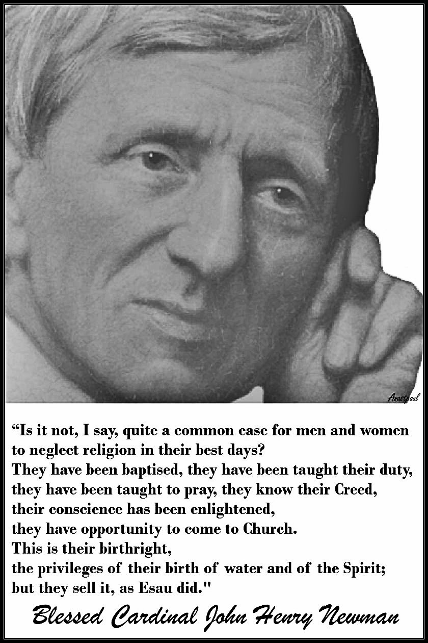 is-it-not-i-say-quite-a-common-case-bl-john-henry-newman- no 2 used 26 feb 2019