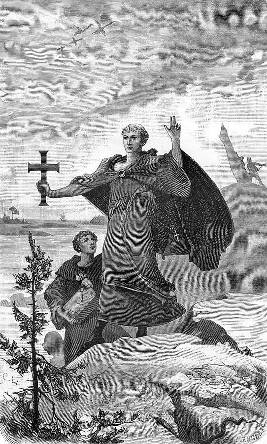 saint-ansgar-anskar-oscar-801-865-mary-evans-picture-library