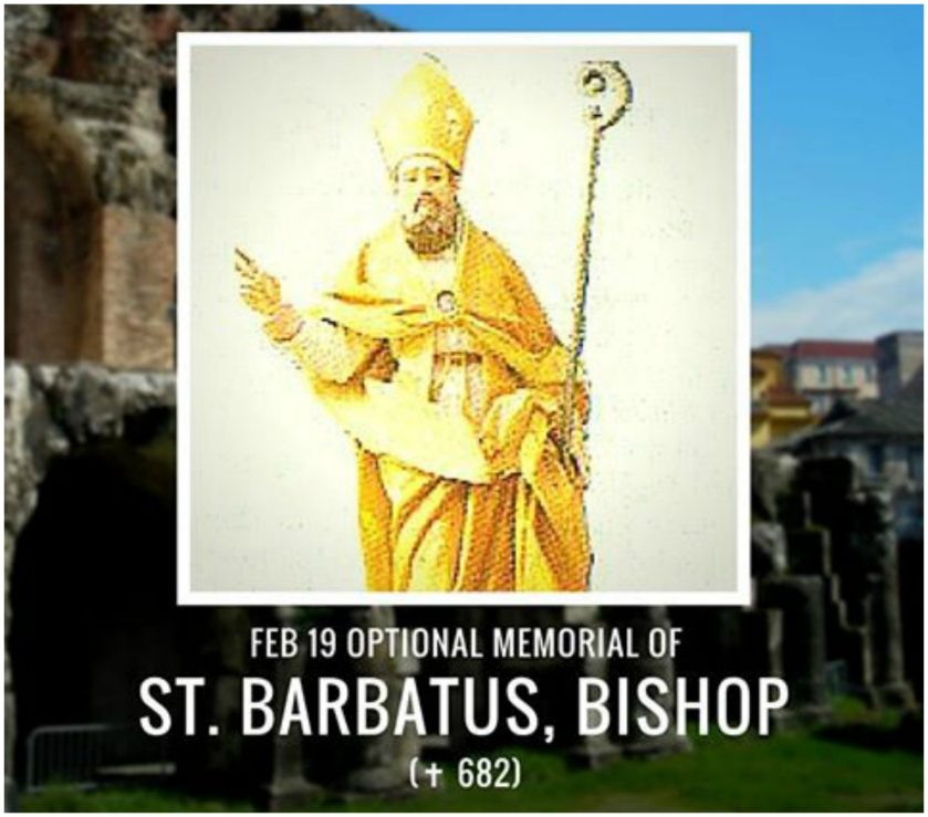 st barbatus bishop