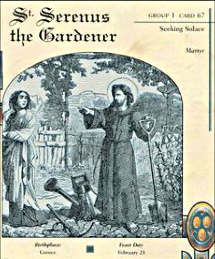 st serenus the gardener