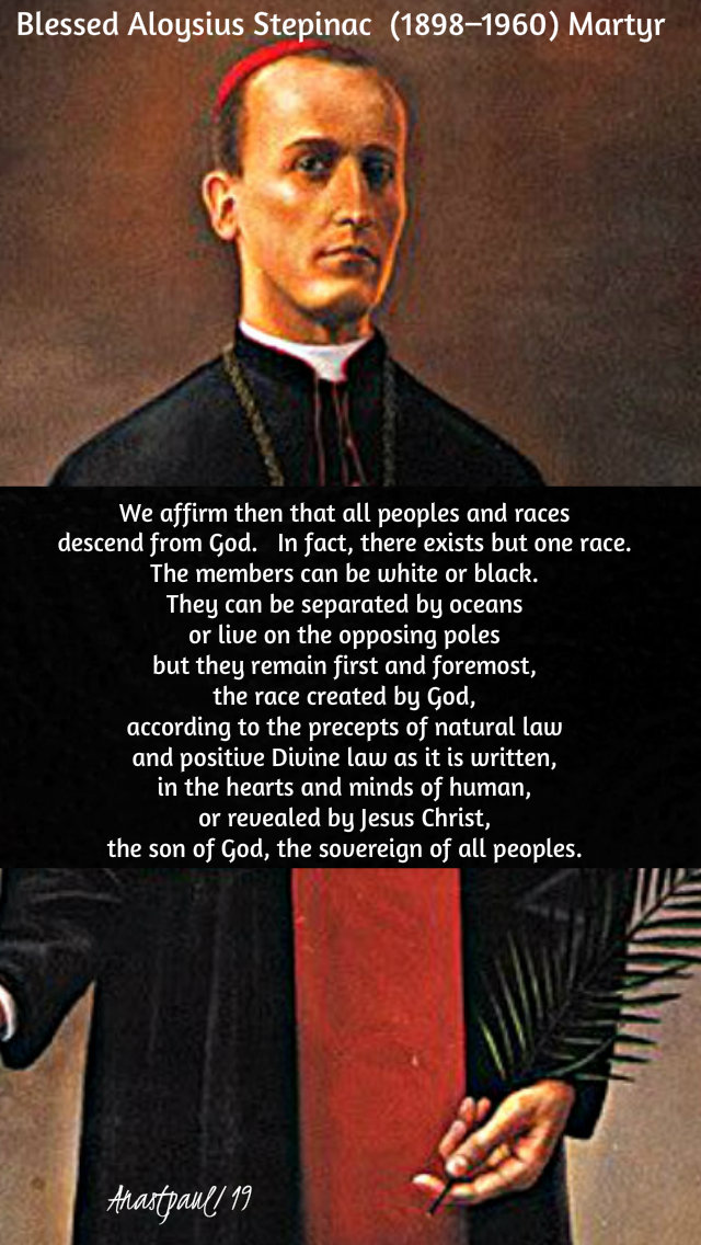 we affirm that all peopls and races - bl aloysius stepinac 10 feb 2019.jpg