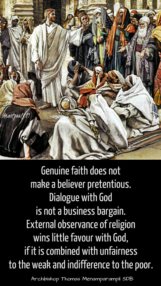 genuine faith does not make - fri after ash wed - 8 march 2019.jpg
