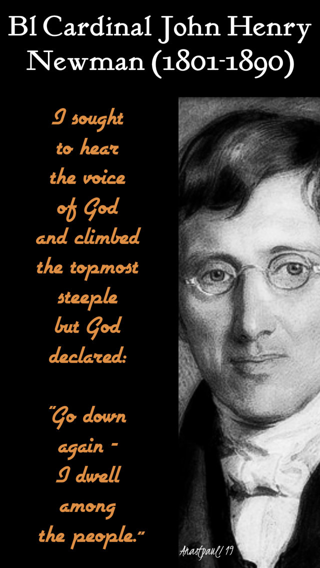 i sought to hear the voice of god - bl john henry newman 29 march 2019.jpg