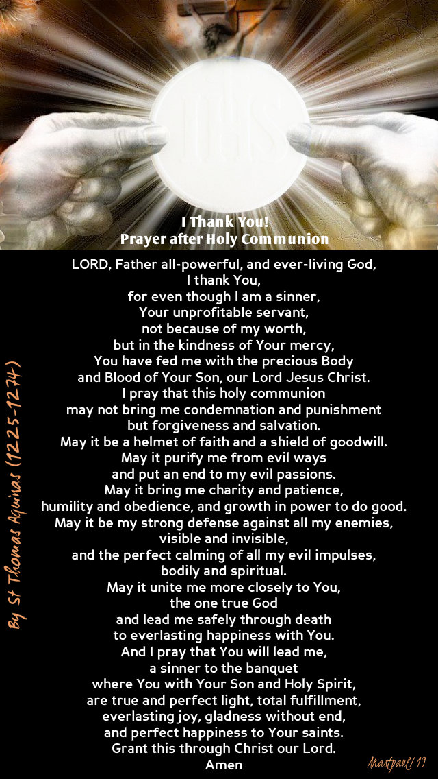 I thank YOU- prayer after holy comm st thomas aquinas - 31 march 2019.jpg