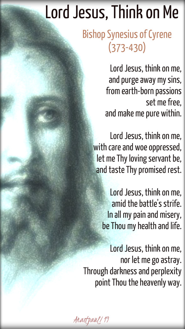 lord jesus think on me - bishop synecius - 11 march 2019 lenten breviary hymn.jpg