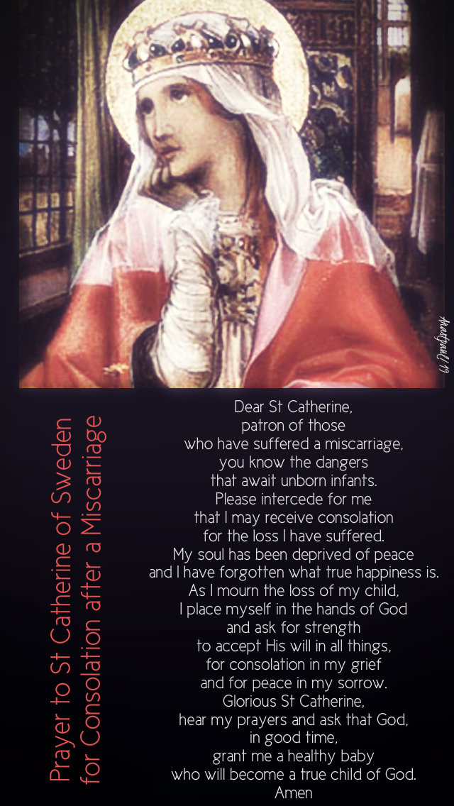 prayer to st catherine for consolation after a miscarriage 24 march 2019.jpg