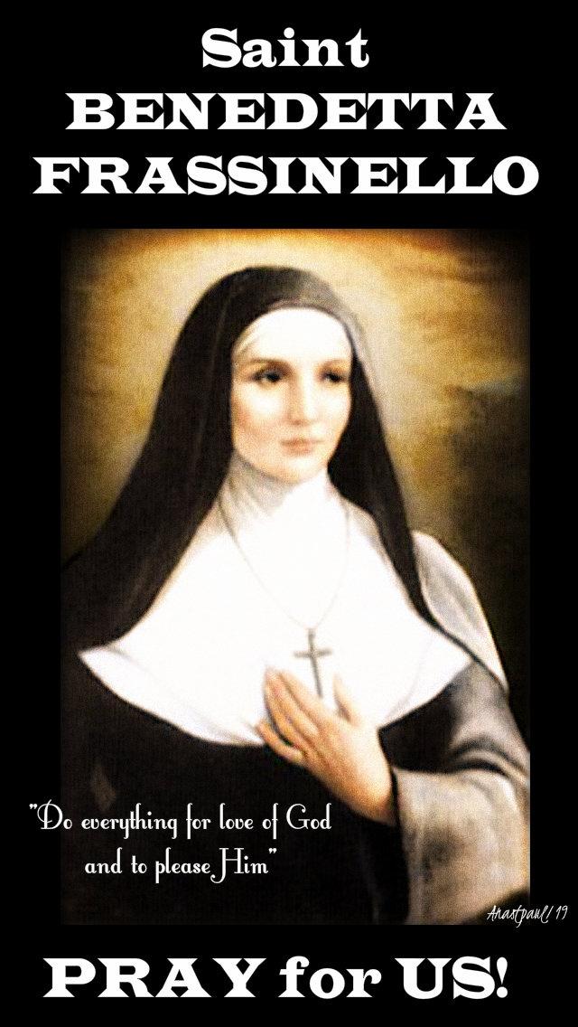 st benedetta frassinello pray for us 21 march 2019 do everythingforthelove of god.jpg