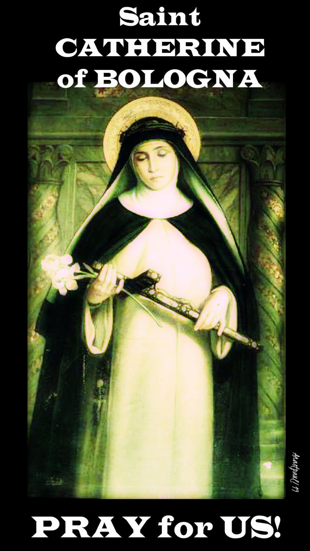 st catherine of bologna pray for us - 9 march 20195.jpg