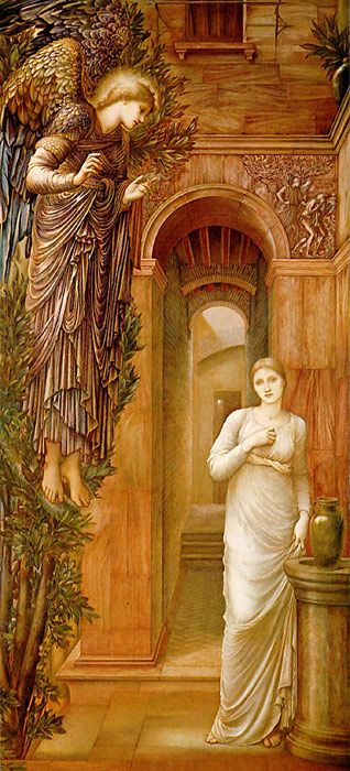 The Annunciation, 1876-1879 Burne-Jones.jpg