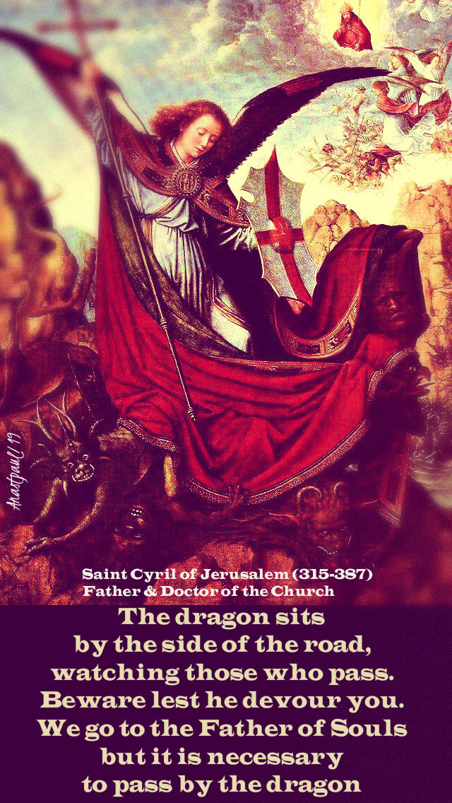 the dragon sits by the side of the road - st cyril of jerusalem 16 march 2019.jpg