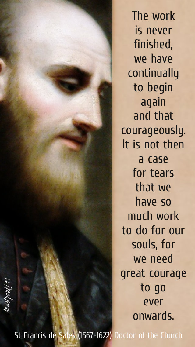 the work is never finished - st francis de sales - 27 march 2019.jpg