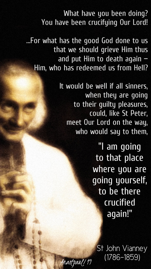 what have you been doing - st john vianney - 5 march 2019.jpg