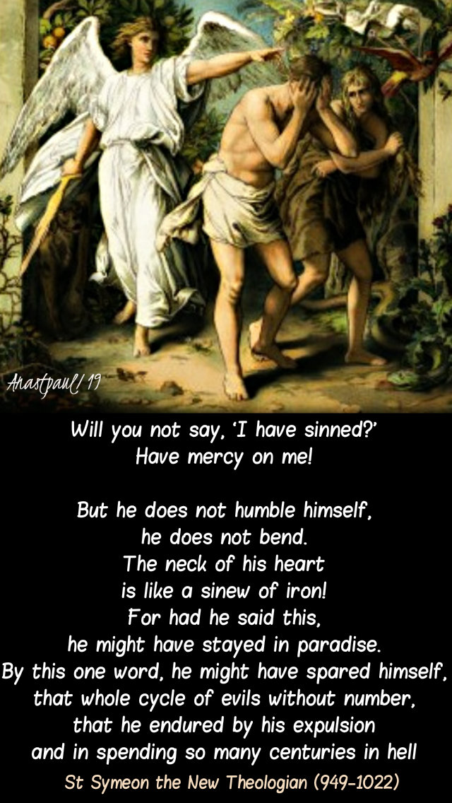 will you not say I have sinned - have mercy on me - st simeon the theologian - lent prep novena 2 march 2019.jpg