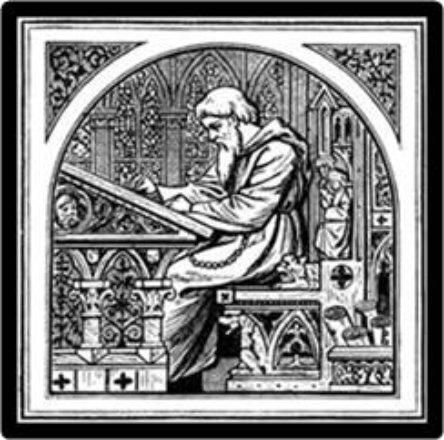 26_ St_ Paschasius Radbertus, Abbot
