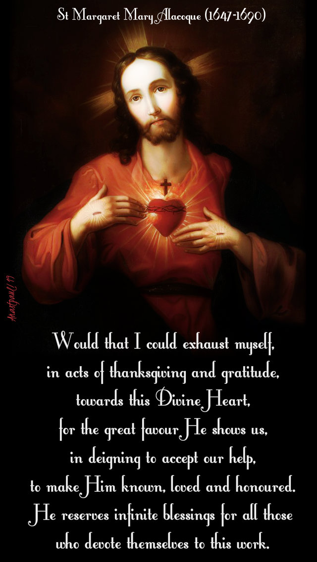appeal - would that i could exhaust myself - st margaret mary alacoque - 1 march 2019.jpg