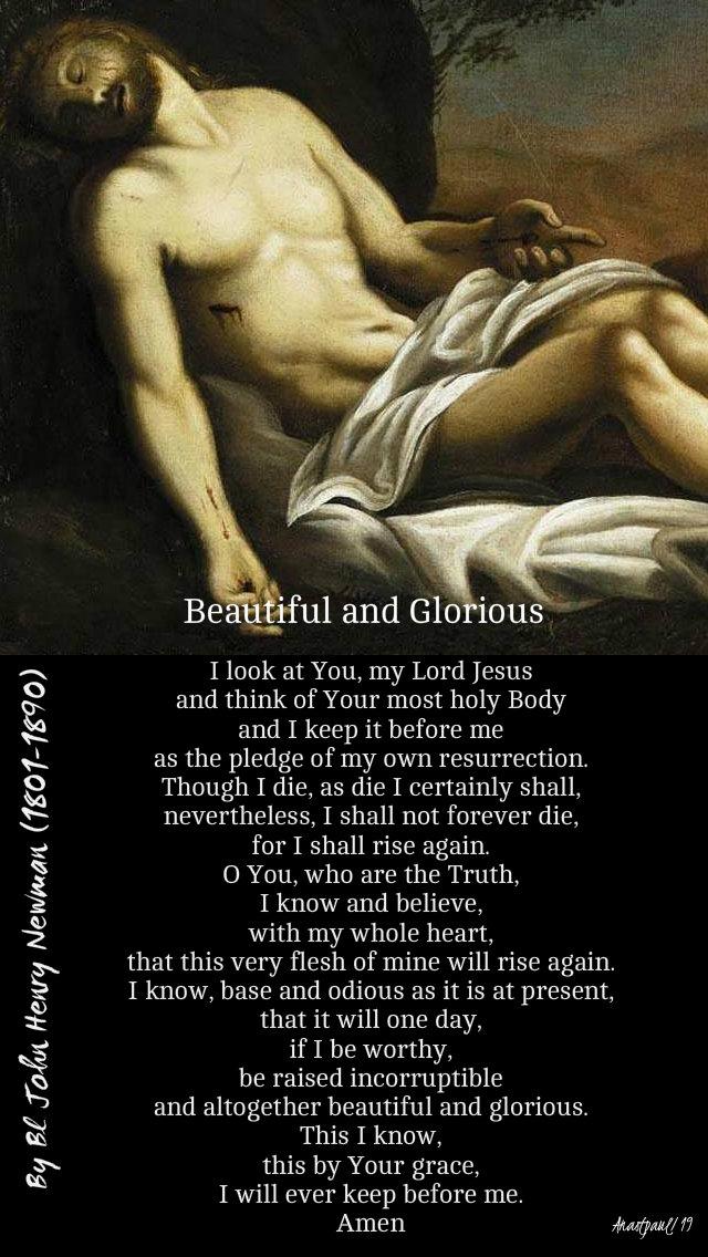 beautiful and glorious - bl john henry newman - holy sat 20 april 2019.jpg