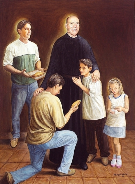 bl mariano de la mata with children