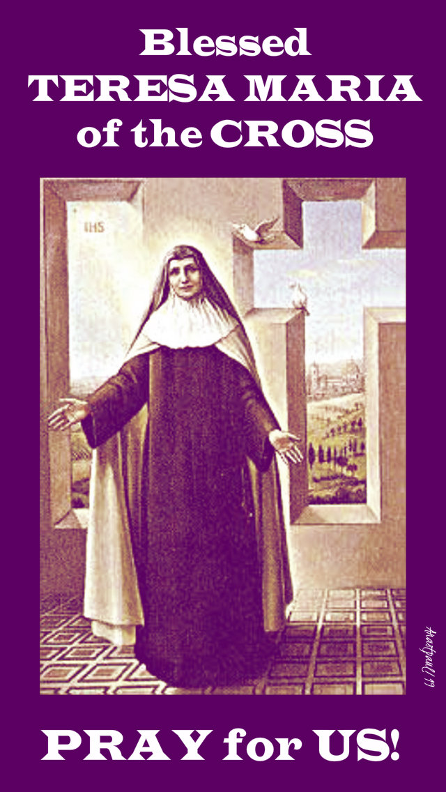 blessed teresa maria of the cross pray for us 23 april 2019.jpg