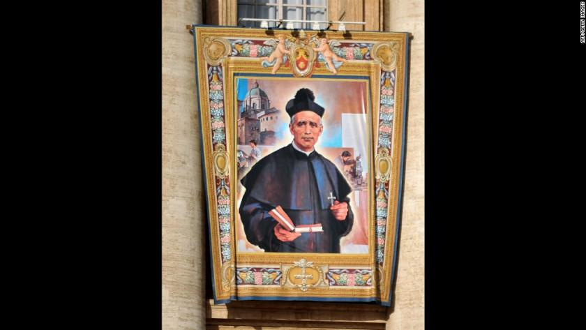 canonisation snip st giovanni