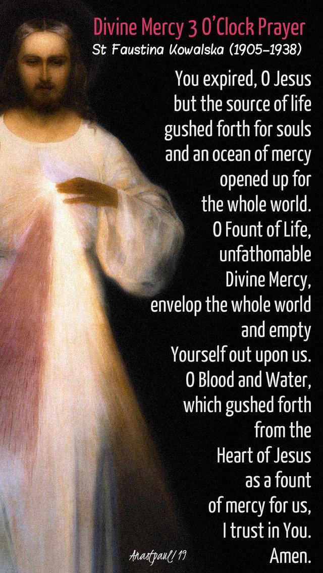 divine mercy 3 oclock prayer div mercy sunday 28 april 2019.jpg