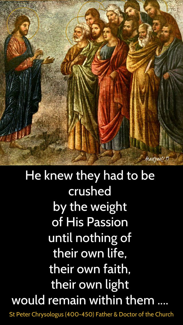 he knew they had to be crushed - st peter chrysologus 3 april 2019.jpg