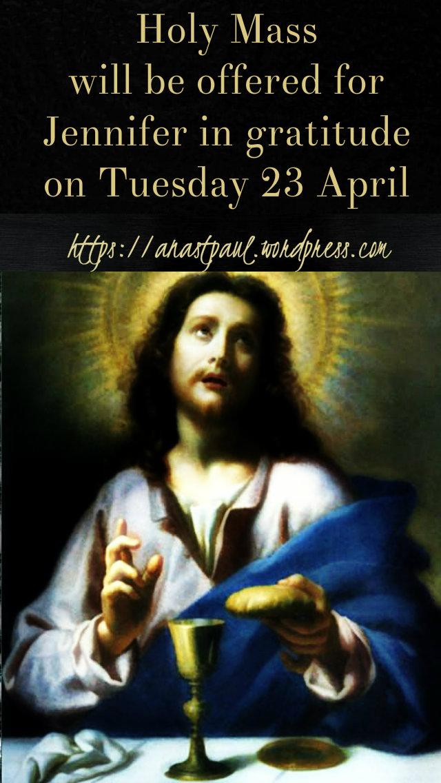 holy mass in gratitude - jennifer ma 17 april 2019.jpg