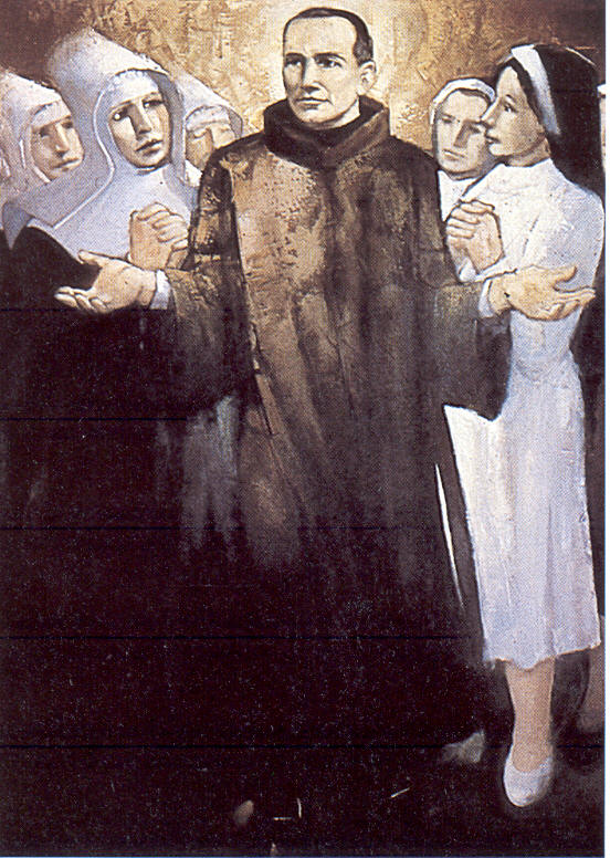 st benedict with sisters.jpg