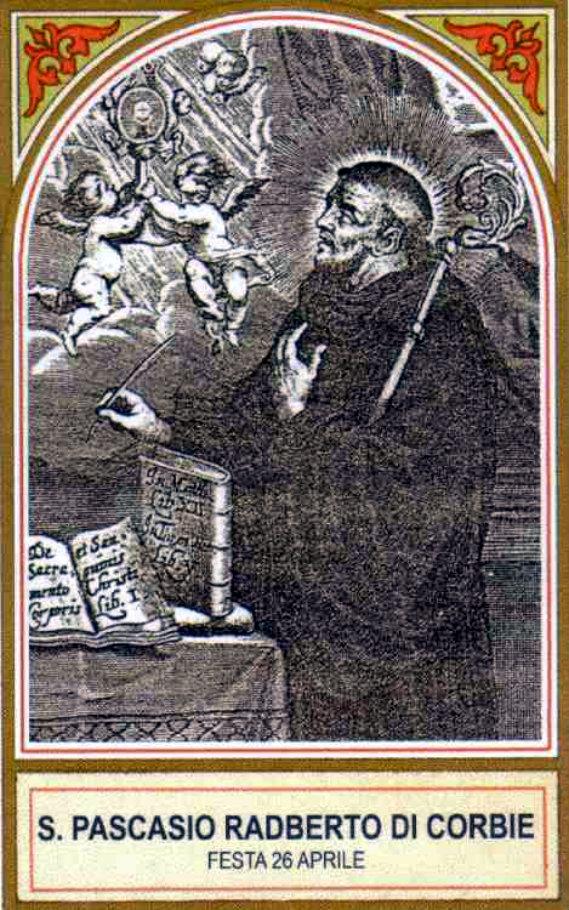 st paschasius radvertus of corbie