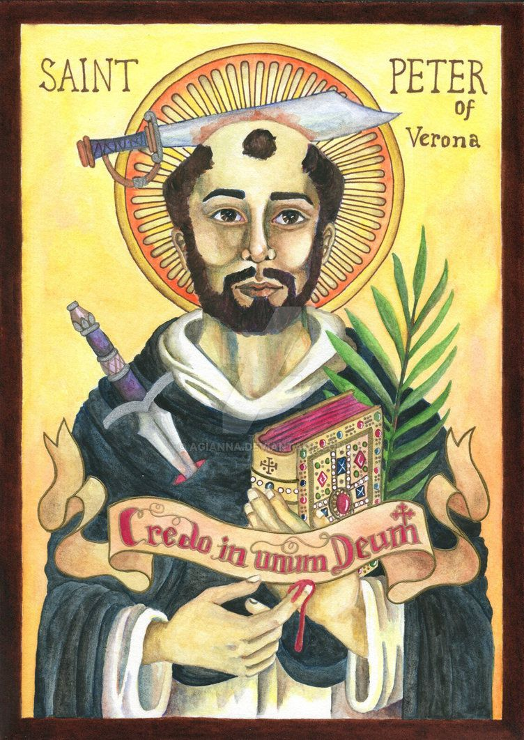 st peter of verona icon