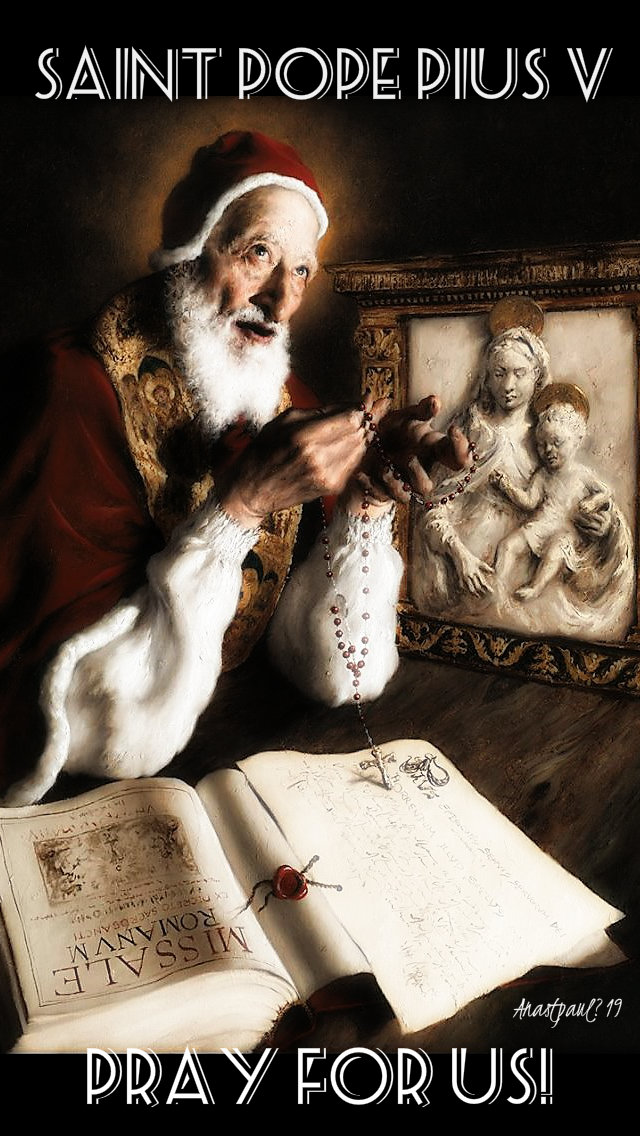 st pope pius v pray for us 30 april 2019.jpg