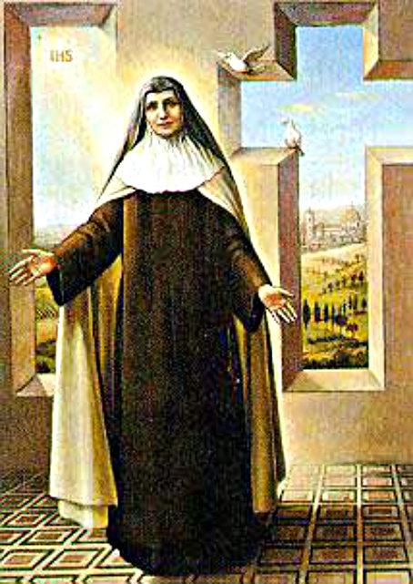 st teresa maria of the cross