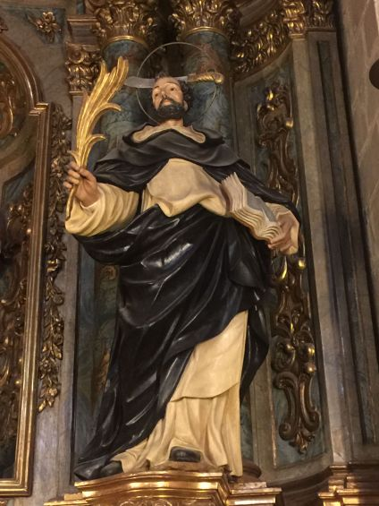 St. Peter of Verona in the Barcelona Cathedral