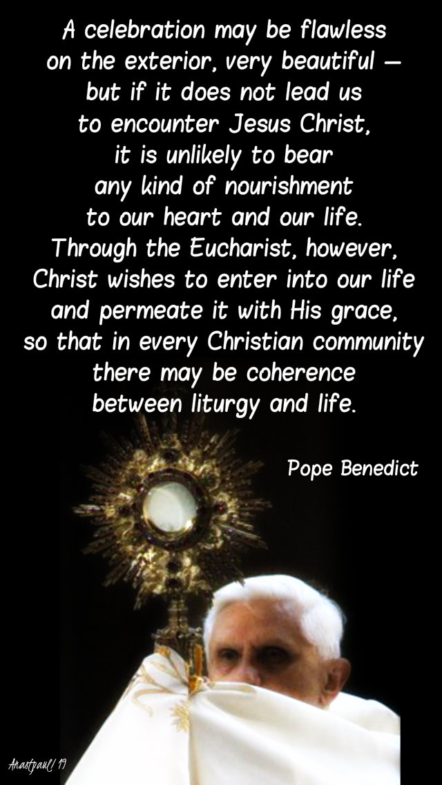 a celebration may be flawless - pope benedict 8 may 2019.jpg