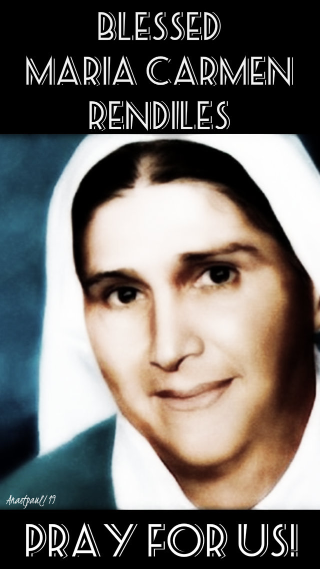 bl maria carmen rendiles pray for us 9 may 2019.jpg
