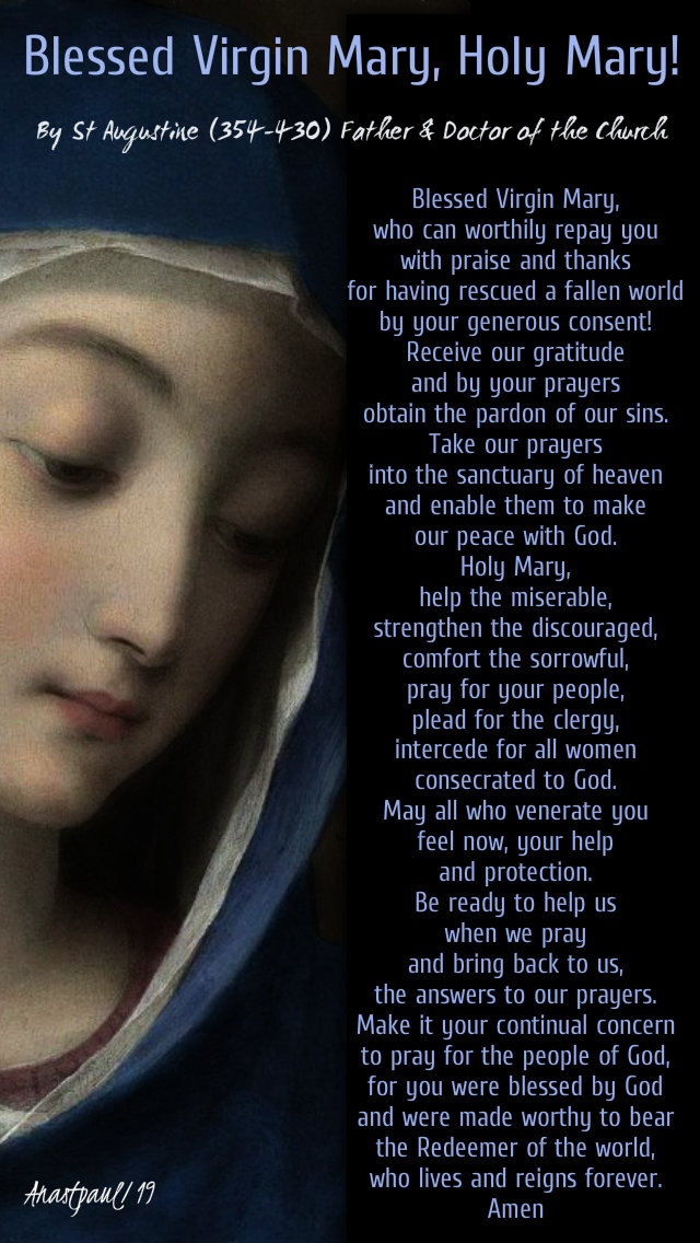 blessed virgin mary, holy mary! by st augustine - 4 may 2019.jpg