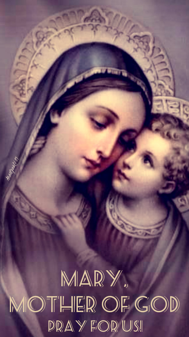 mary mother of god pray for us 11 may 2019