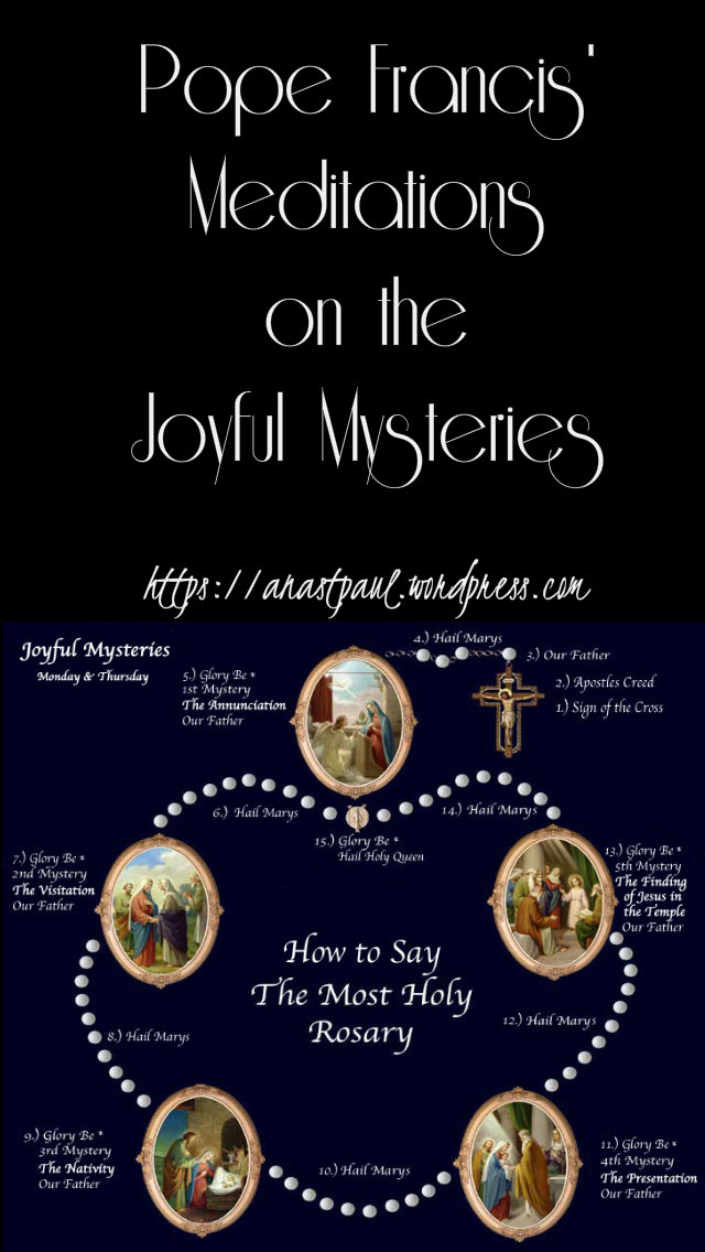 pope francis' reflections on the joyful mysteries 1st mystery 14 may 2019.jpg