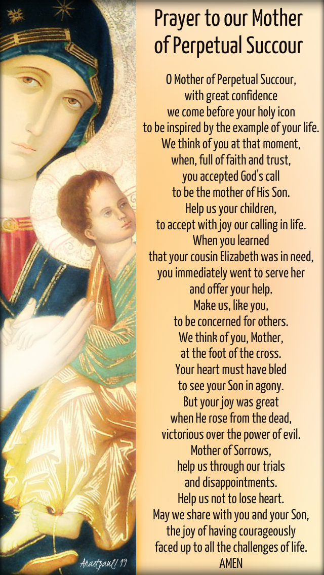 prayer to our moether of perpetual succour - prayer warriors prayer 9 may 2019.jpg