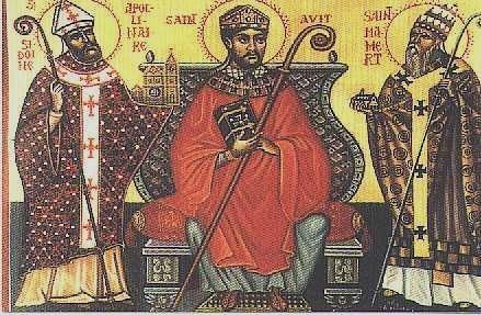 Saint_Mamertus right wutg sts avutys abd apollinaris.