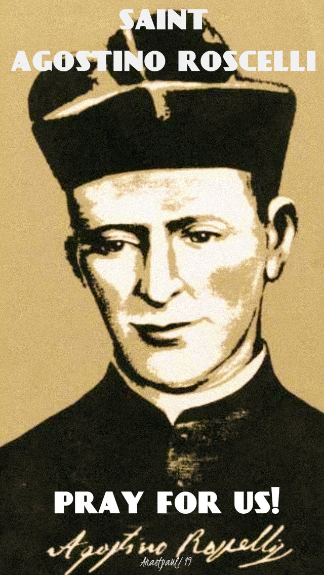 st agostino roscelli pray for us 7 may 2019
