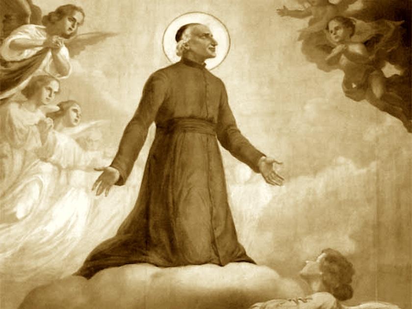 st michel garicoits at prayer