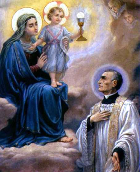 st peter julian eymard and our lady of the blessed sacrament