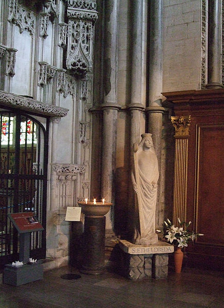 436px-Saint_Ethelreda's_Statue,_Ely_Cathedral