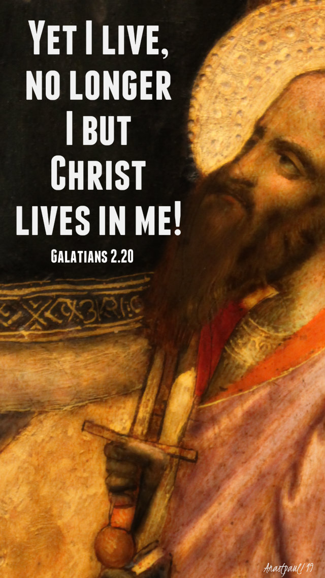 galatians 2 20 yt i live no longer I but christ lives in me 30 june 2019.jpg